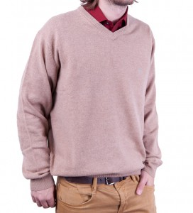 Sweter LAMBSWOOL piaskowy